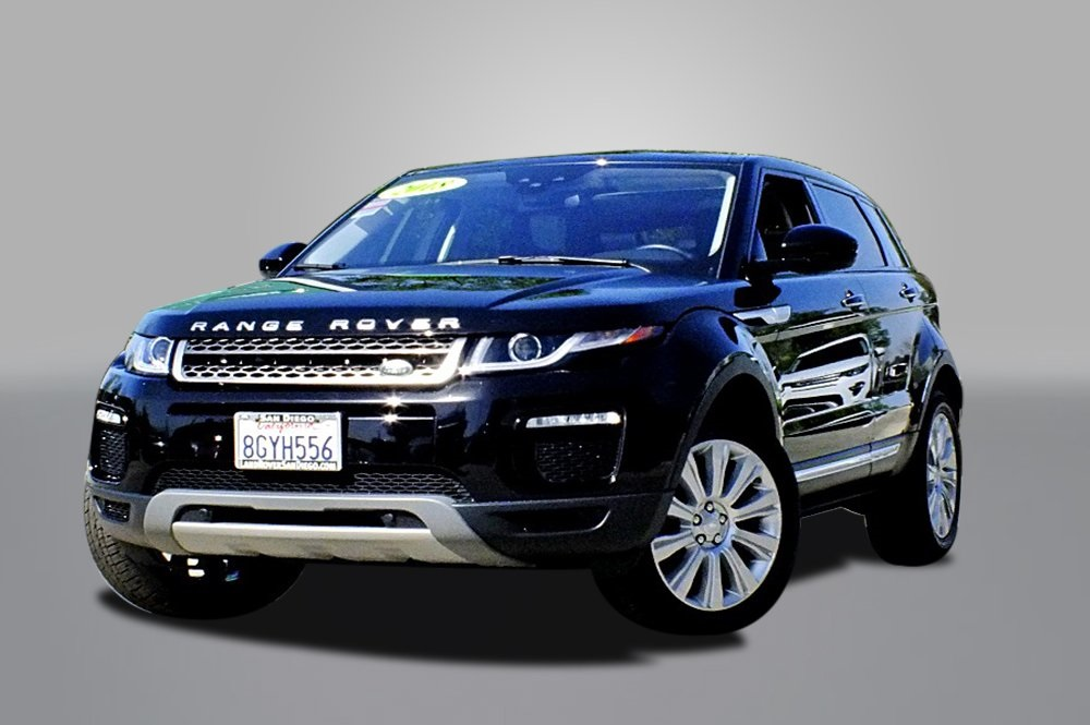 Certified Pre-Owned 2018 Land Rover Range Rover Evoque HSE
